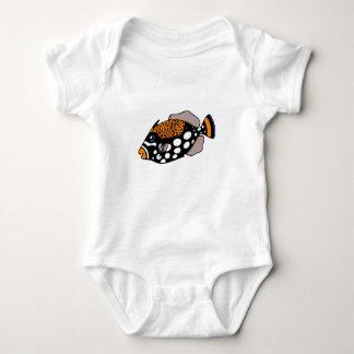 Clown Triggerfish Baby Bodysuit