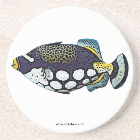 Clown Triggerfish Coaster