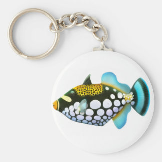 Clown Triggerfish Keychain