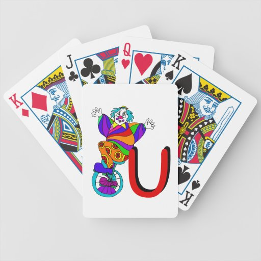 Clown U.png Bicycle Playing Cards