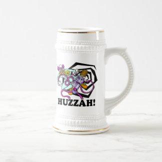 Clown V. Robo Huzzah! Stein 18 Oz Beer Stein