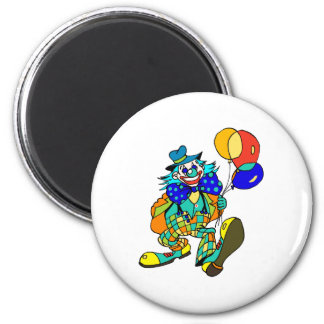 Clown with Balloons Magnet