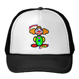 Clown (with logos) mesh hat