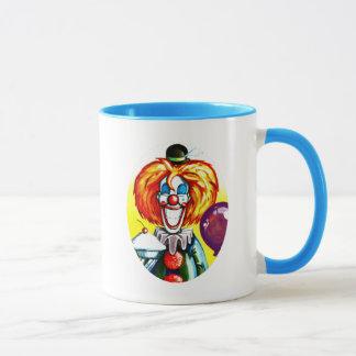 Clown with Pie Painting Mug