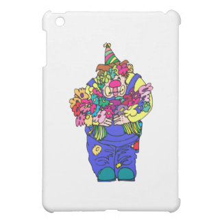Clown with roses case for the iPad mini