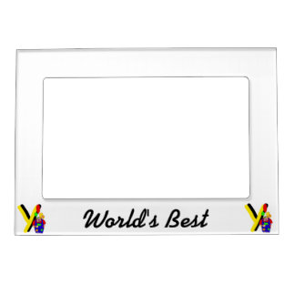 Clown Y.png Magnetic Photo Frames