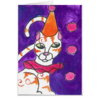 ClownCat Card