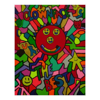 Clownface-U R el MEJOR poster