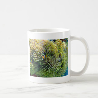 clownfish and anemone coffee mug