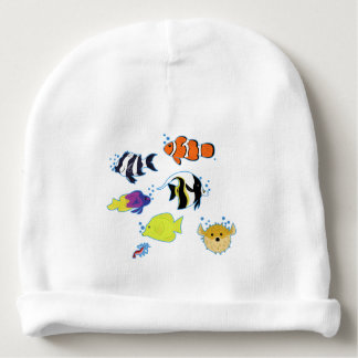 Clownfish and Friends Baby Beanie