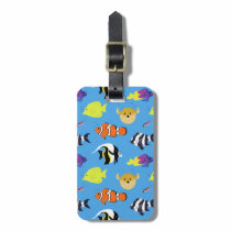 Clownfish and Friends Bag Tag