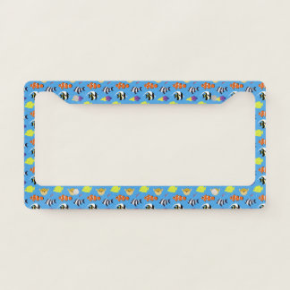 Clownfish and Friends License Plate Frame