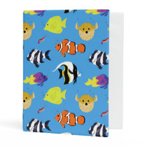 Clownfish and Friends Mini Binder