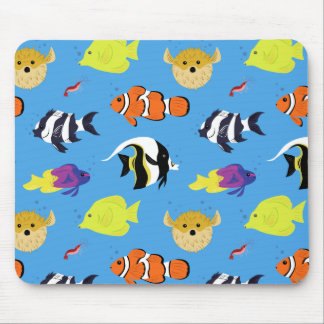 Clownfish and Friends Mouse Pad