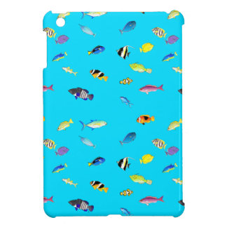 Clownfish and Tangs Scatter iPad Mini Cover