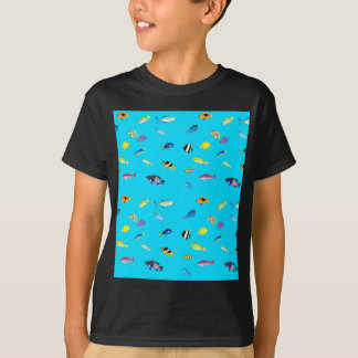 Clownfish and Tangs Scatter T-Shirt
