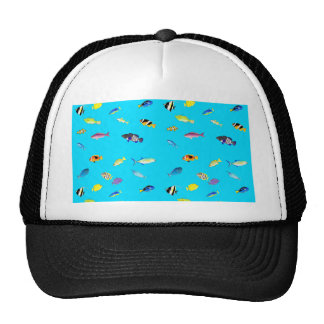 Clownfish and Tangs Scatter Trucker Hat