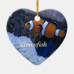 Clownfish Christmas Tree Ornament