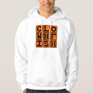 Clownfish, Colorful Fish Pullover