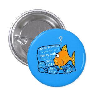 Clownfish confuso pin redondo 2,5 cm