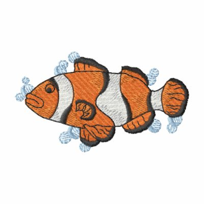 Clownfish Embroidered Hoody