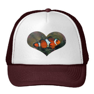 Clownfish Heart Hat