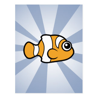 Clownfish lindo postales