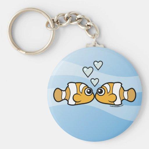 Clownfish Love Keychains