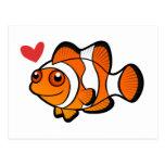 Clownfish Love Postcard