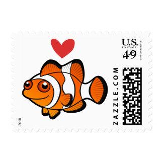 Clownfish Love Stamp