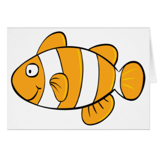 Clownfish Note Cards