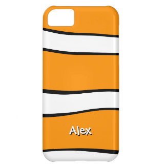 Clownfish Pattern Cover For iPhone 5C