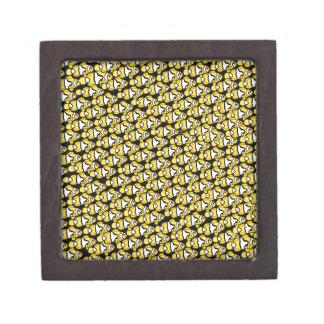Clownfish Pattern on black Gift Box