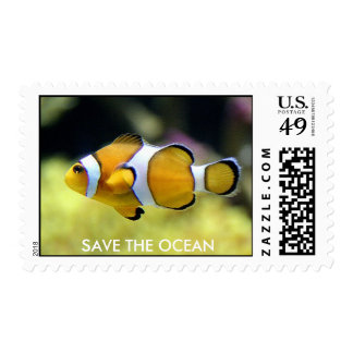 Clownfish Postage Stamps
