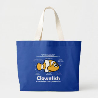 Clownfish Statistics Canvas Bags
