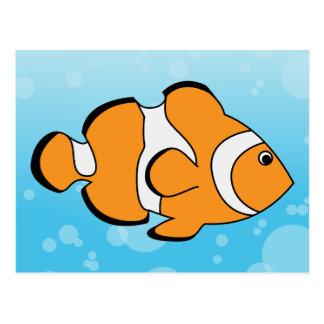 Clownfish Tarjeta Postal