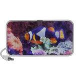 Clownfish y coral portátil altavoces