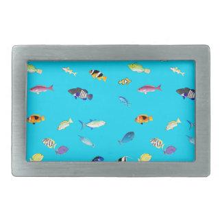 Clownfish y dispersión de los sabores hebilla cinturón rectangular
