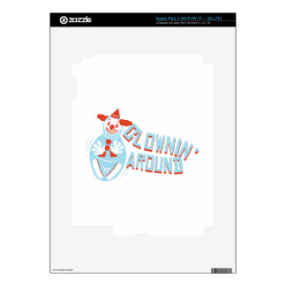 Clownin alrededor iPad 3 pegatina skin