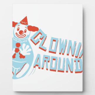 Clownin Around Plaque