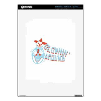 Clownin Around Skin For iPad 3