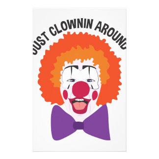 Clownin Around Stationery