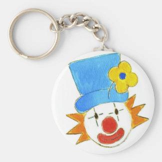 Clowning Around Basic Round Button Keychain