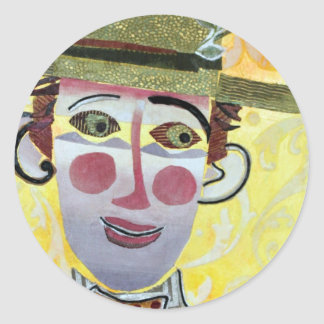 Clowning Around. Classic Round Sticker
