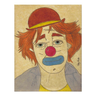 Clowning Around Print