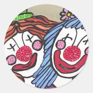 Clowning around Sticker