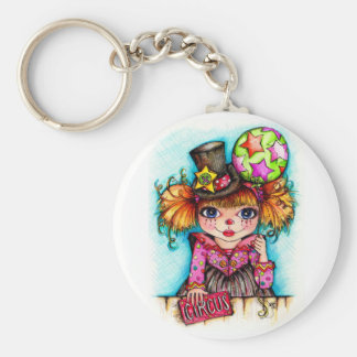 Clowning Around...Under the Big Top Circus Keychain