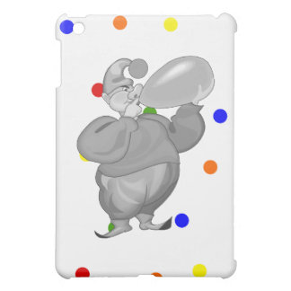 Clowning blowing up balloon iPad mini cover