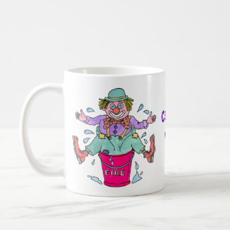 Clowning Capers Classic White Mug