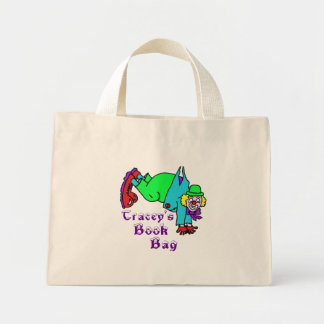 Clowning Capers Tiny Tote Books Bag